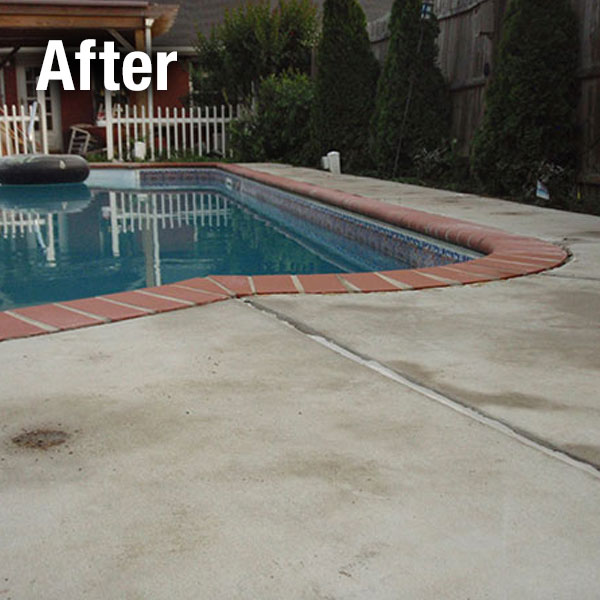 Muncie, Concrete Pool Deck Leveling - After