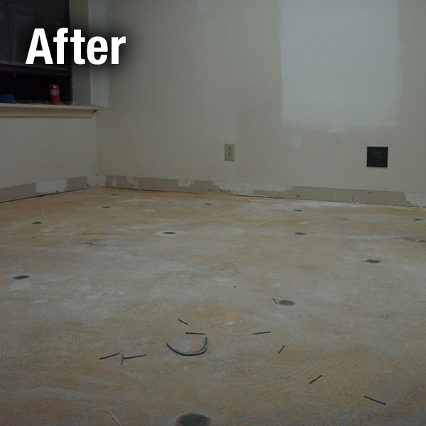 Muncie​ Concrete Floor Leveling - After